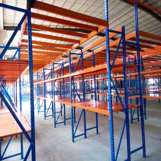 Multi-Level Industrial Warehouse Storage Used Heavy Duty Pallet Rack