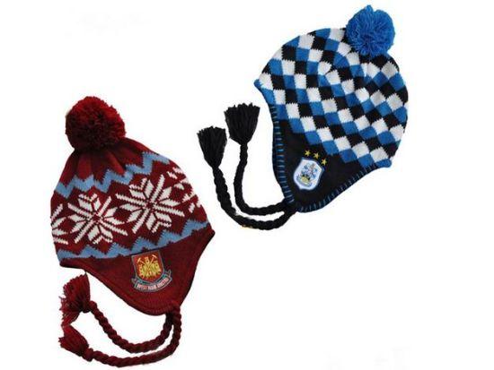 Acrylic Jacquard Winter Earflap Hat