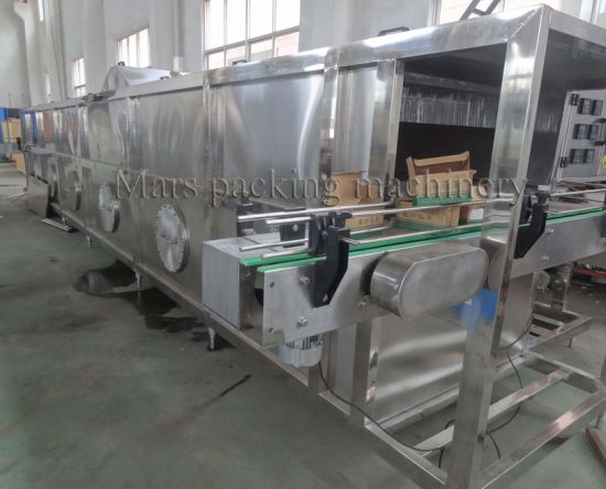 China Glass Bottle Beer Tunnel Pasteurizer
