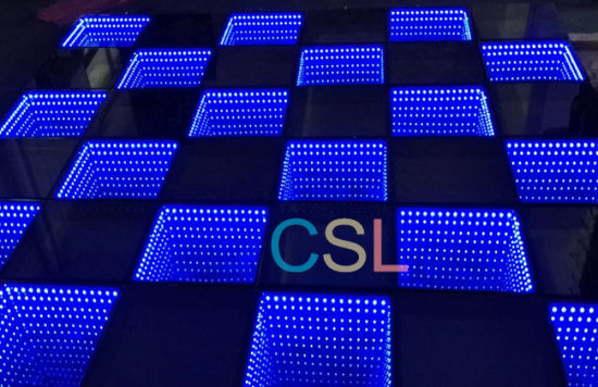 New Design 3D Dance Floor LED Stage Effect Light pictures & photos