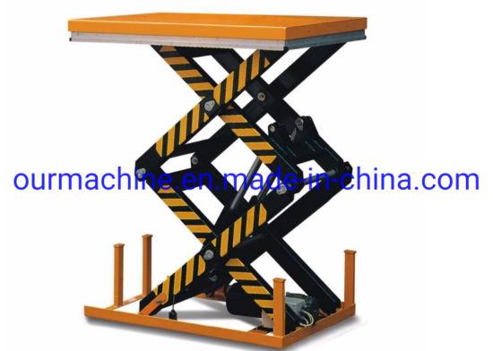 Fixed 4000kg Electric Hydraulic Scissor Lift Table /Scissor Lift Platform HD4000