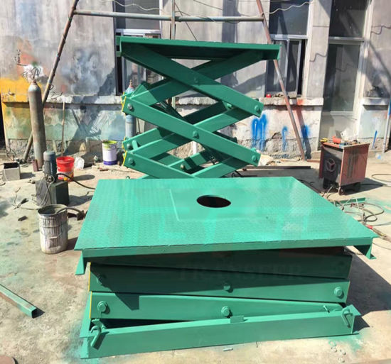 Small Fixed Scissor Hydraulic Die Lift Table China Manufacturer pictures & photos