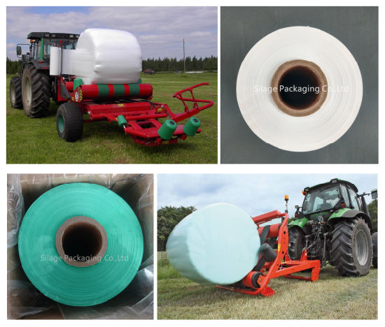 Quality Blown LLDPE Silage Wrap Film Exporting European Countries 500mm pictures & photos