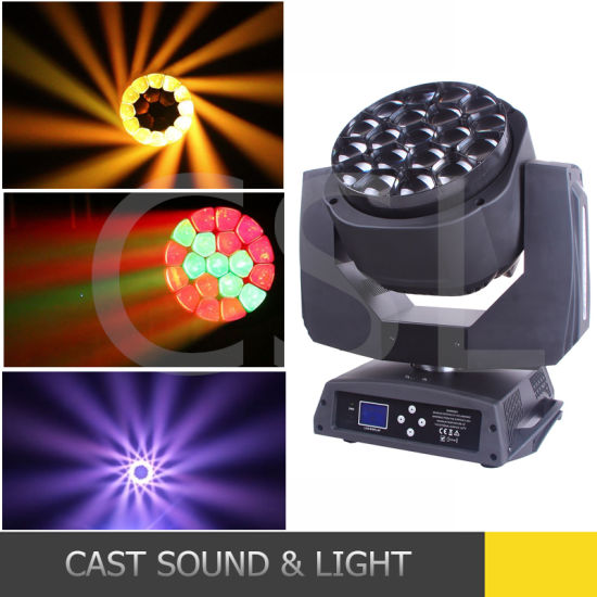 19PCS 15W LED Bee Eye Moving Head Light B-Eye K10 pictures & photos