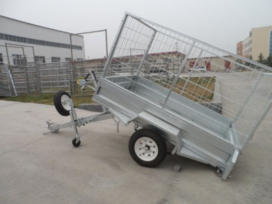 Box Trailers 6X4 Hot DIP Galvanized (HLT6X4) pictures & photos