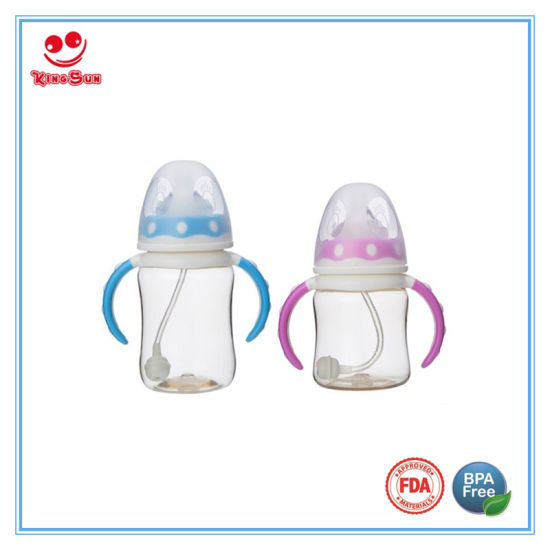 Heat Resistant PPSU Baby Feeding Bottles with Soother pictures & photos