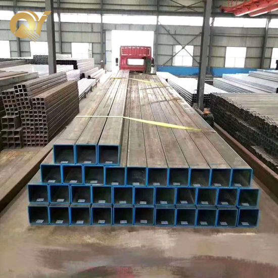 Ss400 Stkr400 Ms Steel ERW Square Rectangular Hollow Section Tube