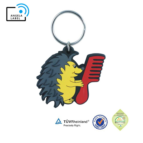 2D or 3D Effect Factory Cheap PVC Rubber Keychain pictures & photos