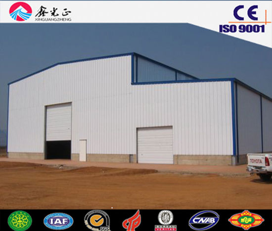 Building Materials/Steel Structure Prefabricated Workshop, Storage Shed, Warehouse (JW-16286)