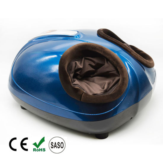 Electric Kneading and Heating Air Pressure Roller Foot Massager pictures & photos