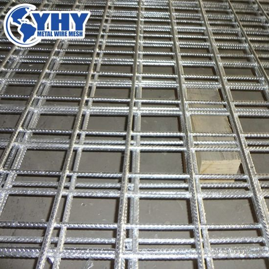 A393 A252 A193 A142 A98 Reinforcing Steel Ribbed Bar Welded Mesh for  Reducing The Risk of Cracks in Concrete Slabs