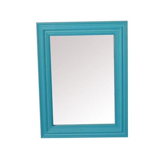 Classic Bathroom Plastic Mirror Cabinet for Home Deco