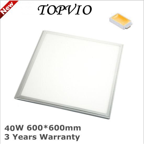 High Quality Ultra Thin L 6060 40W LED Light Panel