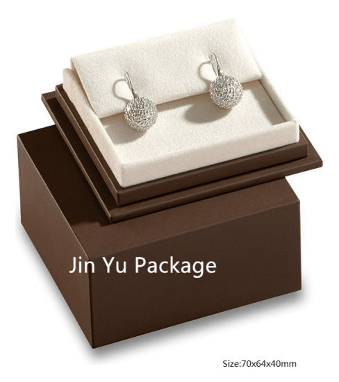 Luxury Handmade Paper Square Gift Jewelry Box for Necklace, Ring, Earrings pictures & photos
