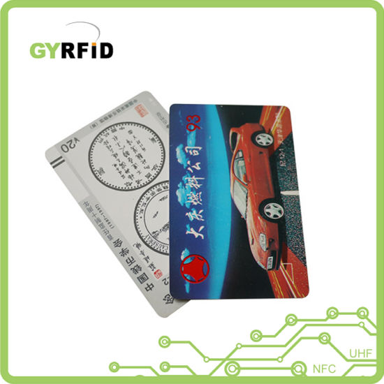 Smart Card Contactless Chip Card for Attendance Management (ISO)