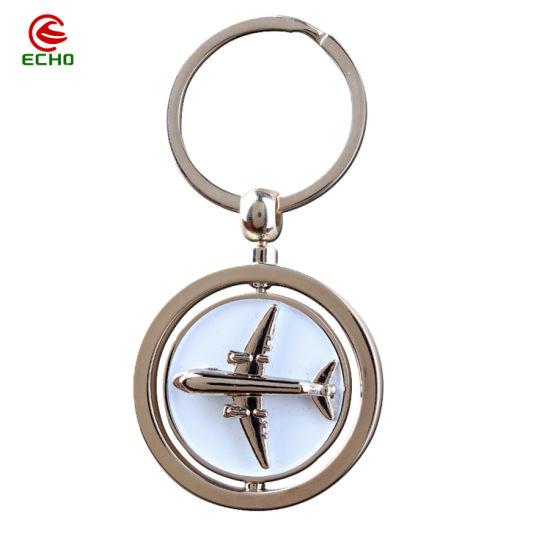 Custom Metal Art Crafts Laser Engraving Key Ring Fashion Decoration Key Holder Zinc Alloy Key Chains for Promotional Gift