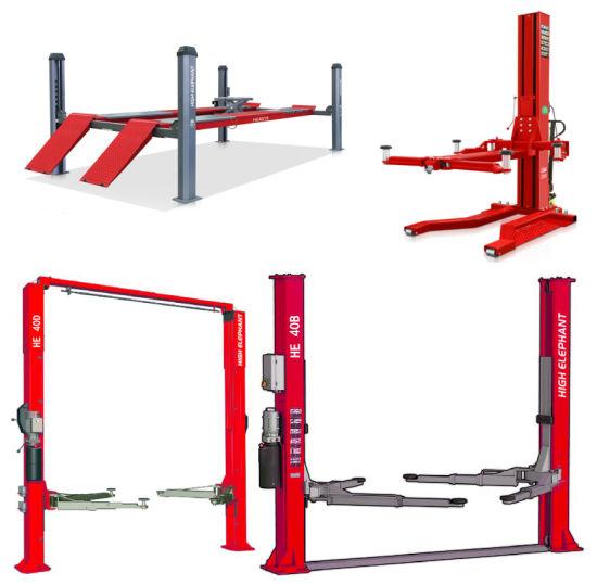 Four Post Lift/Wheel Alignment/Scissor Lift/Wheel Aligner/Car Lift/Garage Equipment/Auto Lift/Car Hoist/Vehicle Lift/Hydraulic Lift/Lifting Equipment/He4019