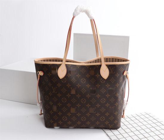 2021classic Checkered Bucket Bag Yellow Shoulder Straps, Designer Shoulder Women L-V Handbag