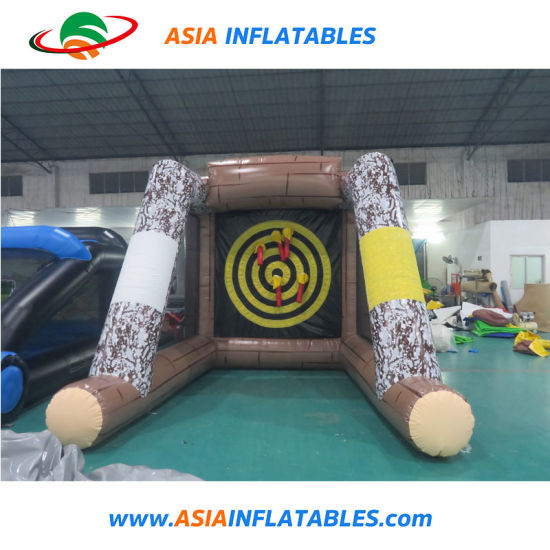 Inflatable Flying Throw Axe Dart Games pictures & photos