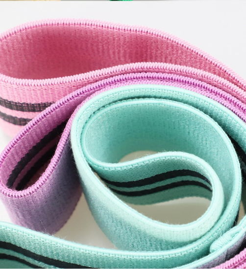 Hot Products Personalized Strong Toughness Fabric Polyester Resistance Yoga Bands