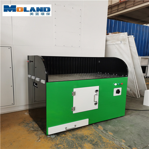 Direct Sales Rust Removal and Grinding Platform Dust Collection Cabinet Double Position Grinding Platform