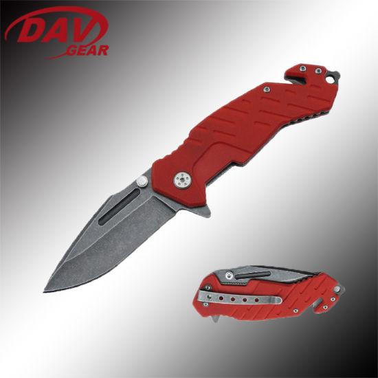 """4.5"""" 3Cr13 S. Steel Stone Washed Blade Liner Lock Pocket Folding Knife"""