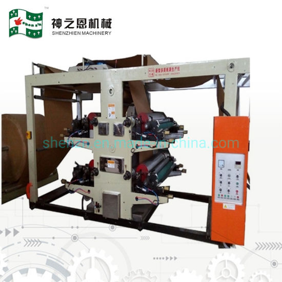 Kraft Paper Bag Forming Machine with 4-Colors Printing