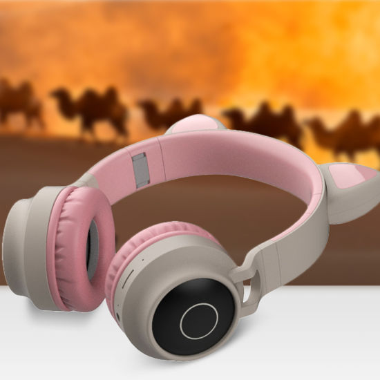 China Wireless Phone Headphones With Led Cat Ear Cute Headphone For Girls China Bluetooth Headphone And Bluetooth Headset Price
