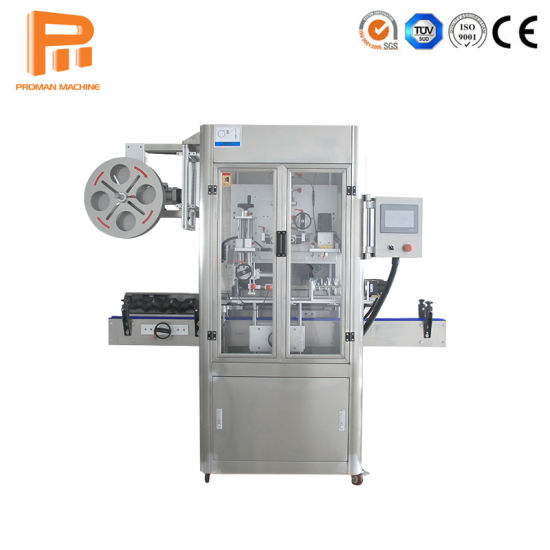 Automatic High Speed PVC Shrink Sleeve Label Machine