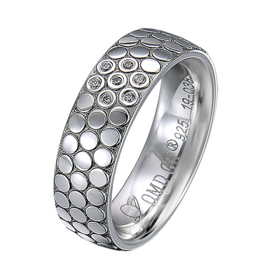 2020 New Design Couple Rings Classic 925 Silver Ring