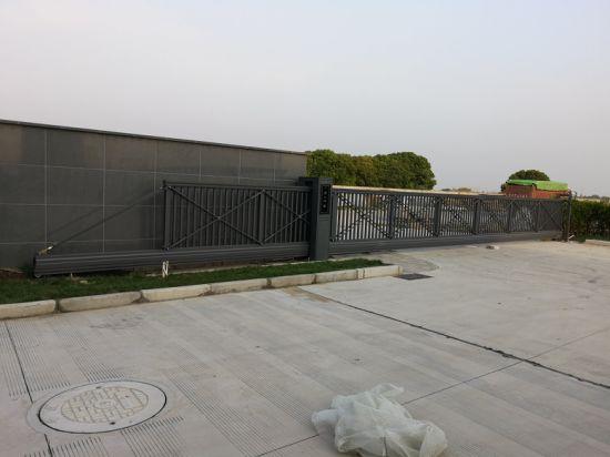 Automatic Sliding Aluminum Suspension Gate Industrial Gate