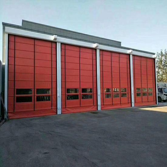 Windproof High Speed Stacking up Door for Warehouse