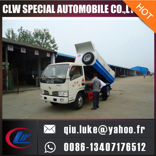 Hydraulic Arm Container Refuse Truck pictures & photos