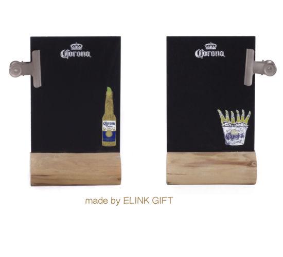 A4 A5 Size Table Top Wooden Flip Menu Holder Menu Board Mini Blackboard