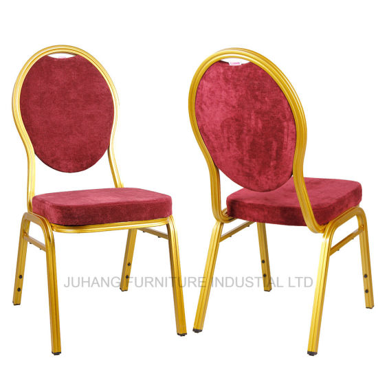 Hotel Furniture Aluminium Stacking Used Metal Banquet Chair (HM-S033)
