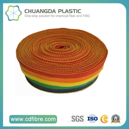 100% Fashion Polypropylene Woven Belt with High Quality