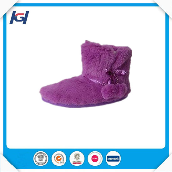 Cheap Wholesale Winter Warm Indoor Slipper Boots for Women pictures & photos