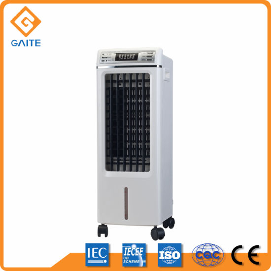 Small Size Big Air Flow Mobile Summer Fan Portable with Detachable Water Tank Air Cooler Lfs-703A pictures & photos