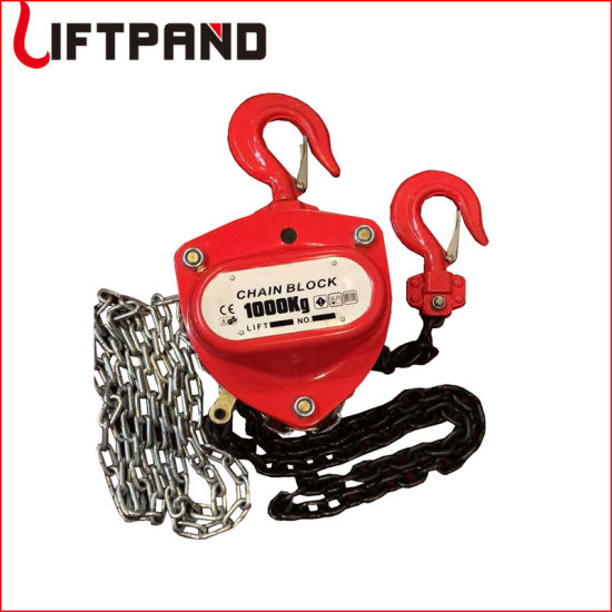 Casting Heat Treated Parts Pulley Lifting Block Manual Construction Chain Hoist