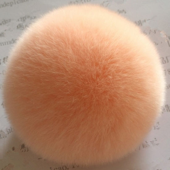 Rabbit Fur POM POM Ball Made in China pictures & photos