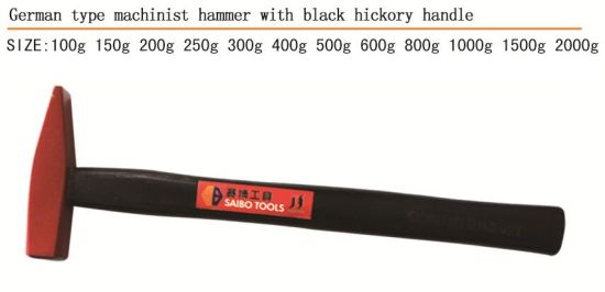 Hammer Good Quality Machinist Hammer with Wooden Handle German Type pictures & photos