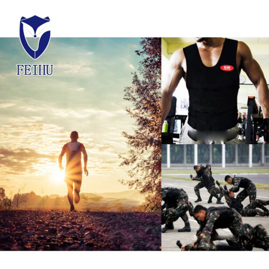 Hongshuo Running Weight-Bearing Vest Vest, Waistcoat, Sandbag Steel Plate, Invisible Adjustable Sandcoat Fitness Equipment pictures & photos