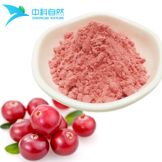 Spray Dried Cranberry Fruit Powder for Fruit Drinks/Lollipop pictures & photos