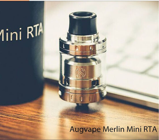 China a&D Wholesale 100% Original Augvape Merlin Mini Rta Atomizer