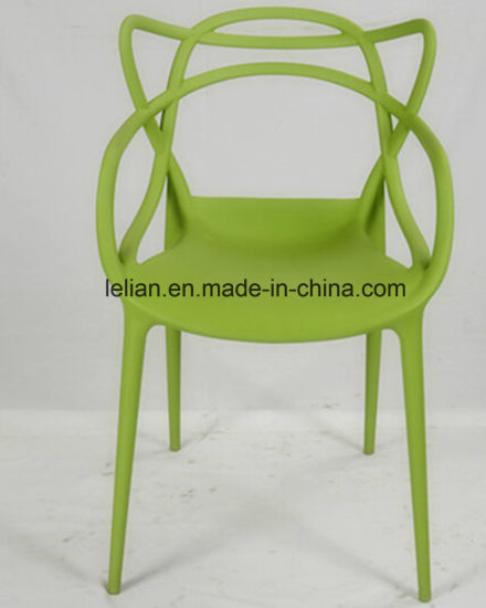 China Moulded Pp Plastic Leisure Garden Chair For Outdoor Furniture
