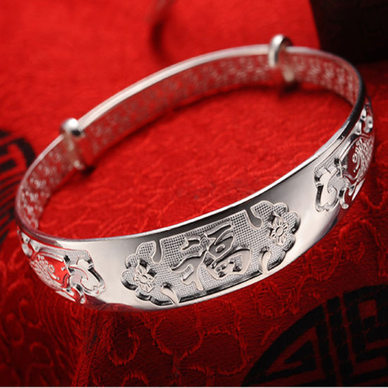 999 Silver Women′s Silver Bracelet pictures & photos