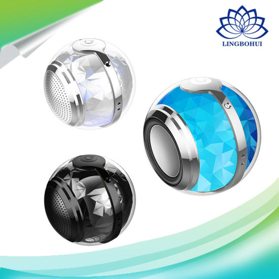 Bluetooth 4.1 Round Ball Shape Portable Professional Mini Wireless Loudspeaker pictures & photos