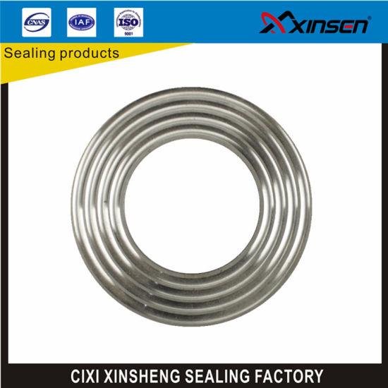 China Ss304 Ss316 CS Ss321 Corrugated Gasket Flat Gasket Round ...