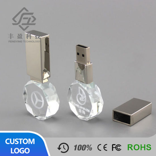 Smart Crystal Good-Looking USB Flash Drive 32GB pictures & photos