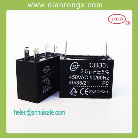 Attractive Cbb61 Fan Capacitor 3 Wire 1 5 2 5 Sketch - Schematic ...